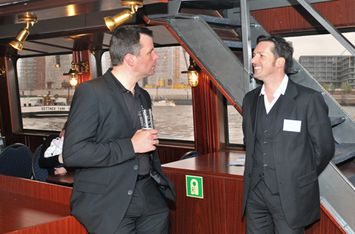 Jorg Weisflog with Andreas Wienold at the ViDOFON Conferencing & Seaport Day 2010