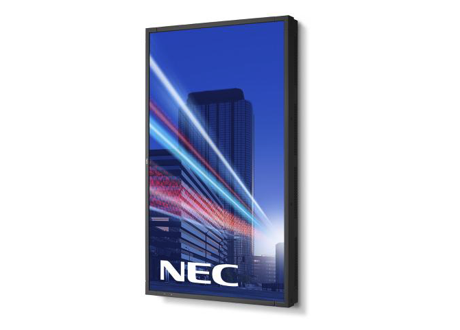 NEC X-Series display in portrait mode