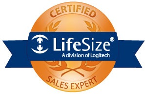 Lifesize Certified Sales Expert badge