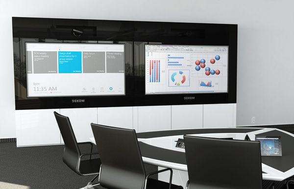 Full HD Monitors Telepresence System