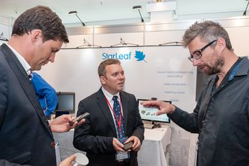 StarLeaf at Conferencing & Seaport Day 2014