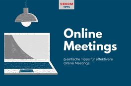 9 Tips on conducting effective meetings