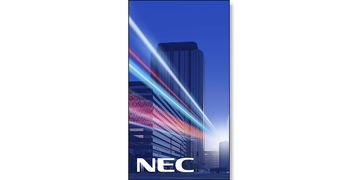 Nec MultiSync X555UNV upright on