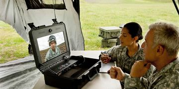 Cisco TelePresence VX Tactical field briefing situation