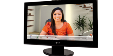 Lifesize LG Executive Profile on a display screen