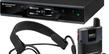 Sennheiser evolution wireless D1 Headmic Set