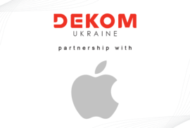 DEKOM Ukraine partners with Apple