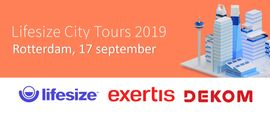 Lifesize City Tours, Rotterdam 17 September 2019