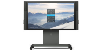 Microsoft Surface Hub 84 with stand