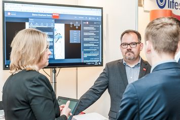 Serious business with Barco at DEKOM Conferencing & Seaport Day 2018