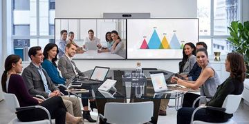 Cisco Spark Room Kit Plus Conference Dual Display