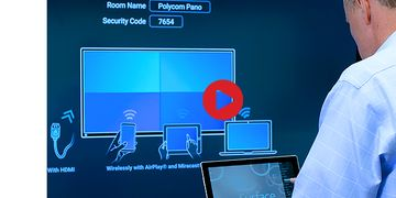 Polycom Pano – How to use Miracast