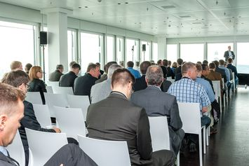 Conferencing & Seaport Day 2014 view from audience