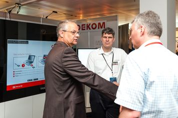 Conversation at DEKOM Conferencing & Seaport Day 2014