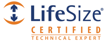 Lifesize Certified Technical Expert badge