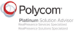 DEKOM is certified Polycom Platinum Solution Advisor