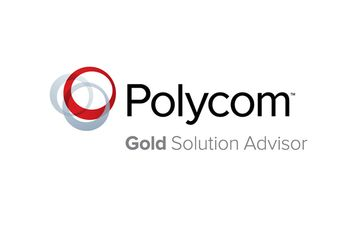Polycom Gold Solution Advisor badge