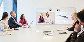 Cisco Telepresence MX700 In Use 03