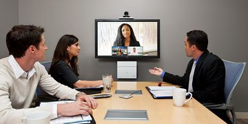 Cisco Telepresence SX20 In Use 02