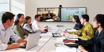 Cisco Telepresence SX20 In Use 03