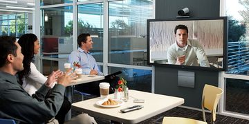 Cisco Telepresence SX20 In Use 04