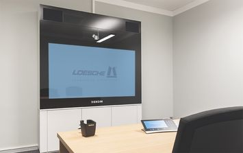 Video conferencing installation at Loesche 2