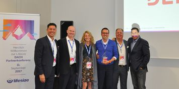 DEKOM named Lifesize DACH reseller of the year 2017