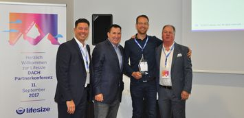 Lifesize recognises Robert Drost of DEKOM as Sales Champion of the Year 2017