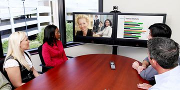 Polycom HDX 6000 In Use 01