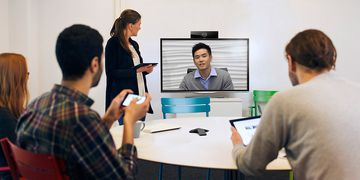 Polycom RealPresence Debut in Use