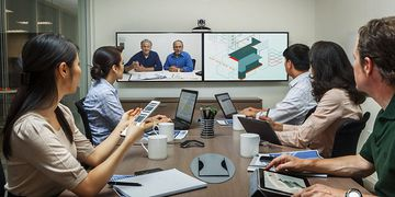 Polycom Realpresence Group 500 In Use 01
