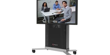 Polycom RealPresence Group Series Media Center single screen