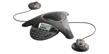 Polycom Soundstation IP 6000 with Microphones