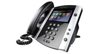 Polycom VVX 600 Right Angle