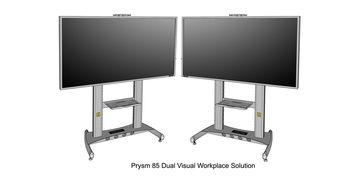 Prysm 85 Dual Visual Workplace Solution Model
