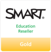 DEKOM ist certified SMART Education Reseller Gold