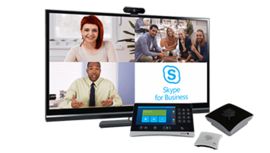 Videoconference System with Skype for Business