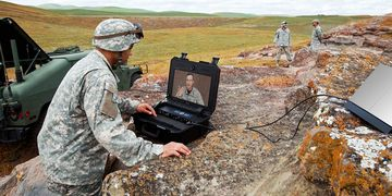 Cisco TelePresence VX Tactical in field action