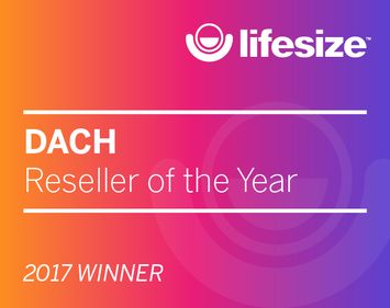 Lifesize DACH Reseller of the Year 2017 Winner