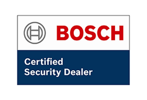 Certified security dealer of Bosch