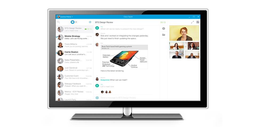 Cisco Spark Video Conferencing Dekom