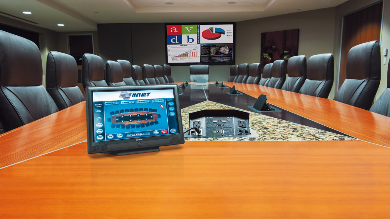 Extron in a Conference Room