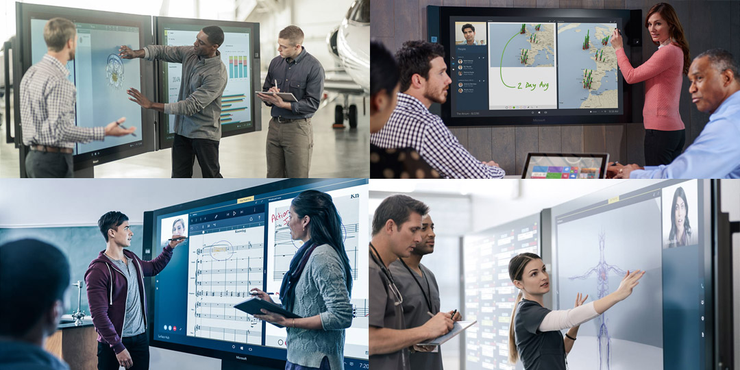 Microsoft Surface Hub use scenarios
