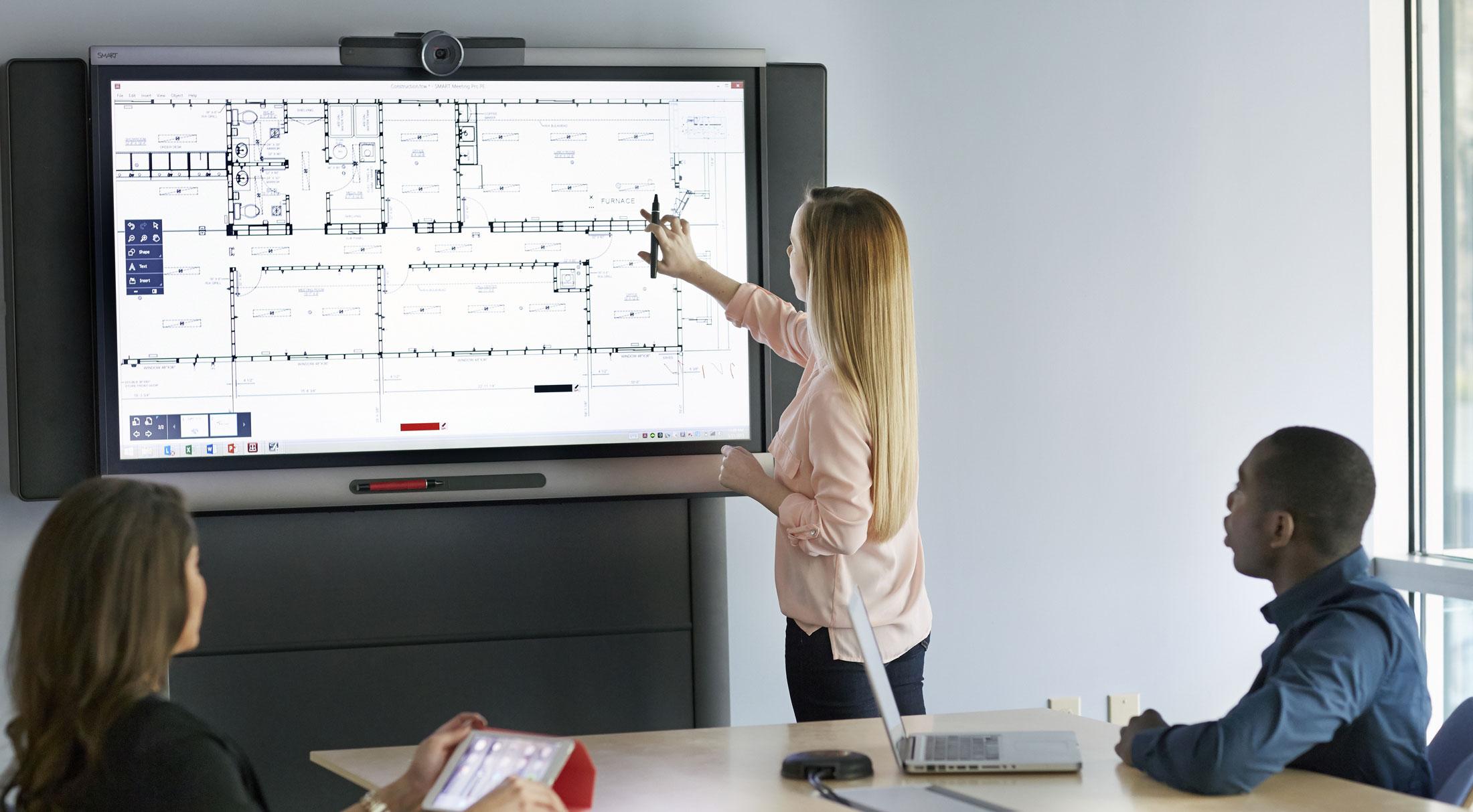 SMART Board 8055i Interactive Flat Panel - Media Technology - DEKOM