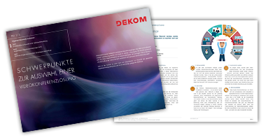 Videoconferencing Solutions Review - tested by DEKOM